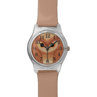 Little brown owl watch