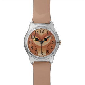 Little brown owl wrist watches