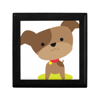 little brown pup gift box