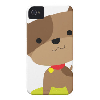 little brown pup iPhone 4 case