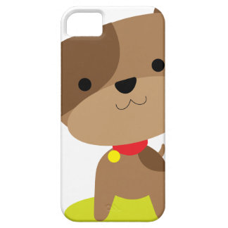 little brown pup iPhone 5 case