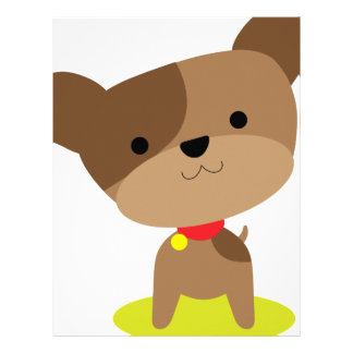 little brown pup letterhead