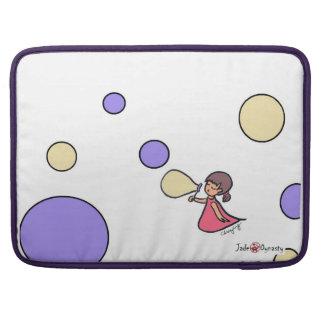 "Little Bubble Girl 15"" Macbook Pro Sleeve"