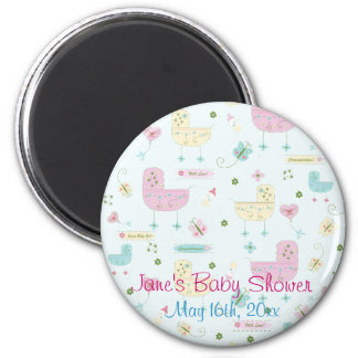 Little Buggy Baby Shower Magnet