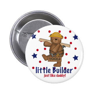 Little Builder Like Daddy Pinback Buttons