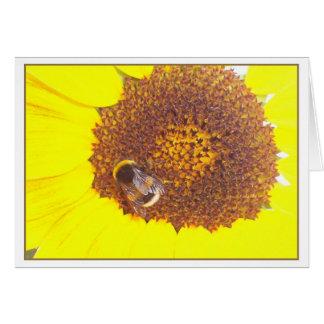 little bumblebee card