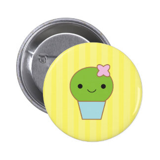 Little Cactus 2 Inch Round Button