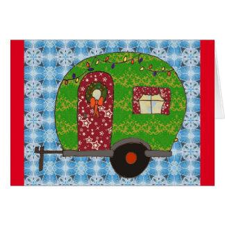 Little Camper Christmas Card