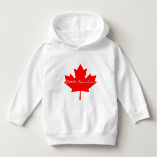 Little Canadian Canada hoodie sweater