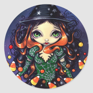 """""""Little Candy Witch"""" Sticker"""