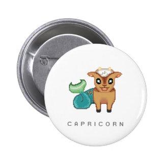 Little Capricorn Button