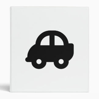Little Car 3 Ring Binder