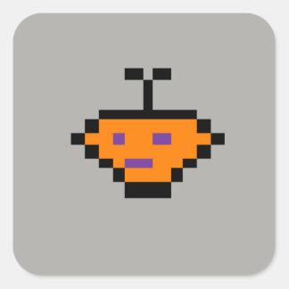 Little Carrot Square Sticker