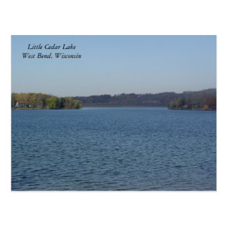 Little Cedar Lake Postcard