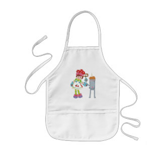 Little Chef Girl Kids Apron
