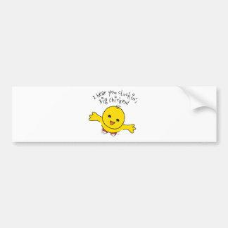 Little Chicken Bumper Sticker