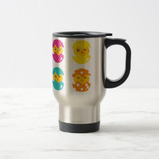Little Chicken Hatching Egg Travel Steel Mug