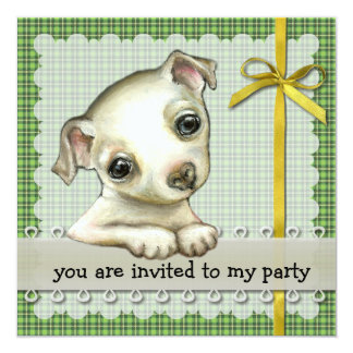 Little chihuahua invitation