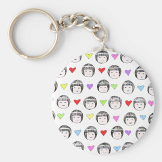 Little China Faces Key chain