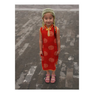 Little Chinese Girl Poster