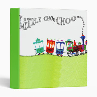 Little Choo Choo Vinyl Binder