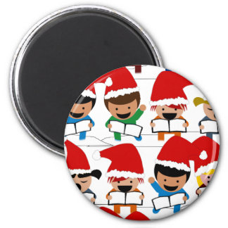 Little Christmas Carolers Magnet