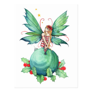 Little Christmas Fairy Postcard