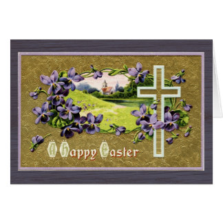 Little Church in the Vale Easter Card