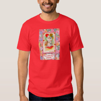 Little clown with hearts tshirt