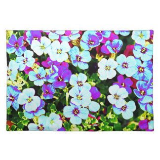 Little Colorful Flowers Placemat