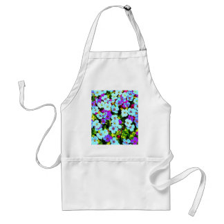 Little Colorful Flowers Standard Apron