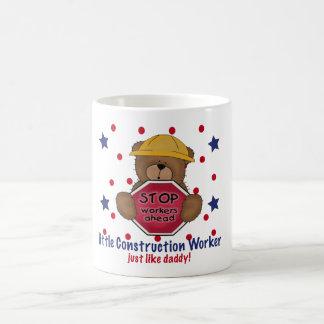 Little Construction Worker Like Daddy Coffee Mugs