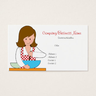Little Cook Business Cards