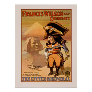 Little Corporal The Broadway Opera Vintage Poster