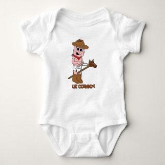 Little Cowboy Baby Baby Bodysuit
