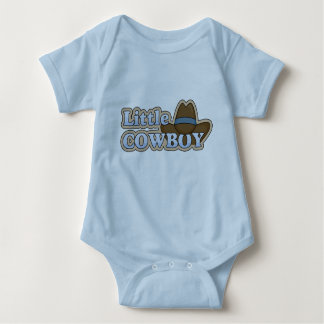 Little Cowboy - Boys Western Baby Bodysuit
