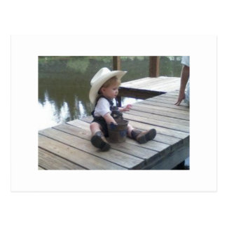 Little Cowboy Postcard
