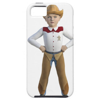 Little Cowboy Sheriff iPhone 5 Cases