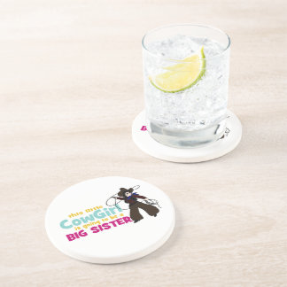 Little Cowgirl, Big Sister Coasters