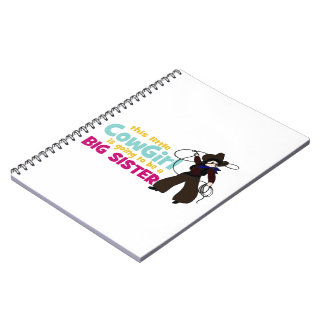 Little Cowgirl, Big Sister Note Books