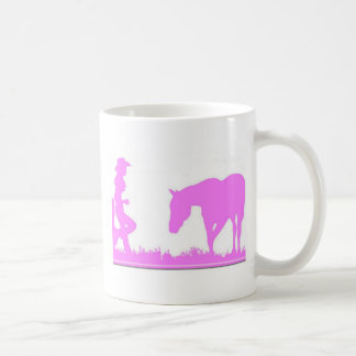 Little cowgirl clothing classic white coffee mug