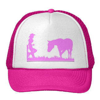 Little cowgirl clothing trucker hat