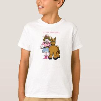 Little Cowgirl & Horse Girls Shirt