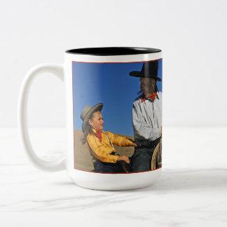 Little Cowgirl Two-Tone Mug