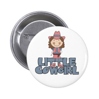 Little Cowgirl Pink Tshirts and Gifts Buttons