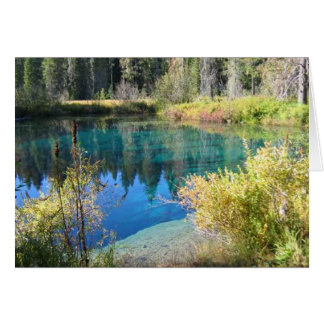 Little Crater Lake Card