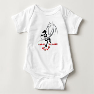 Little Crawler's Year of the Horse Baby Bodysuit