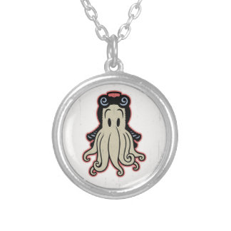 Little Cthulhu Silver Plated Necklace