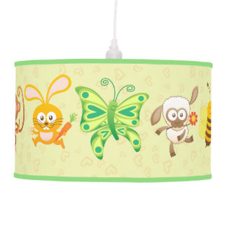 Little Cute Animals Festival Hanging Lamps