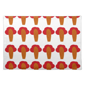 Little cute baobabs placemat